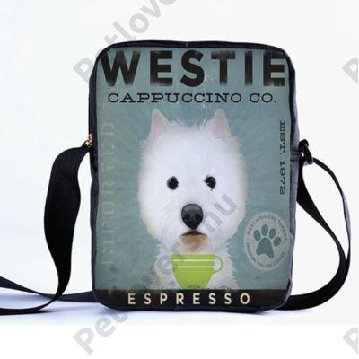 Westie oldaltáska