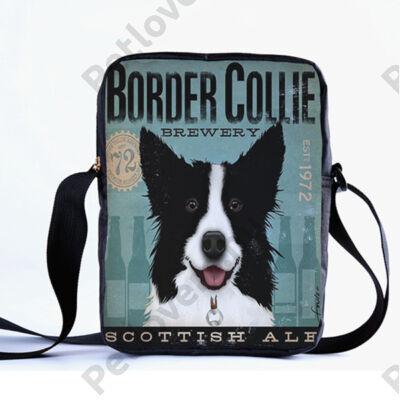 Border Colllie oldaltáska
