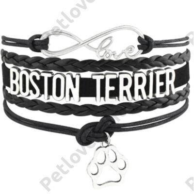 Boston Terrier karkötő