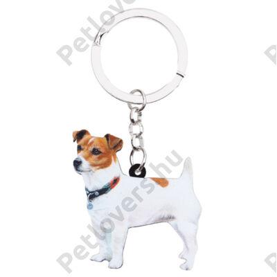 Jack Russell-terrier kulcstartó