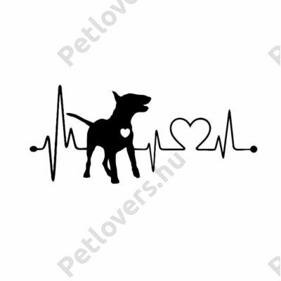 EKG Bullterrier matrica