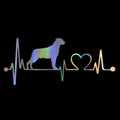 EKG Rottweiler matrica