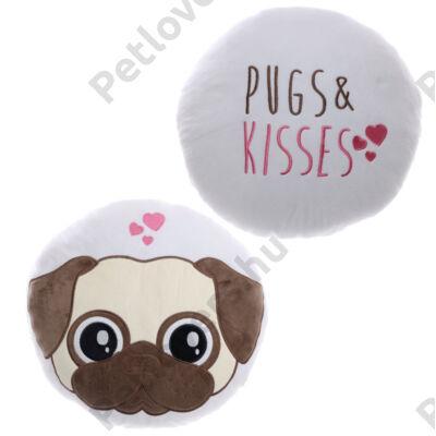 Mopszos párna - Pugs & Kisses