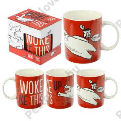 I Woke Up Like This - Simon's Cat bögre