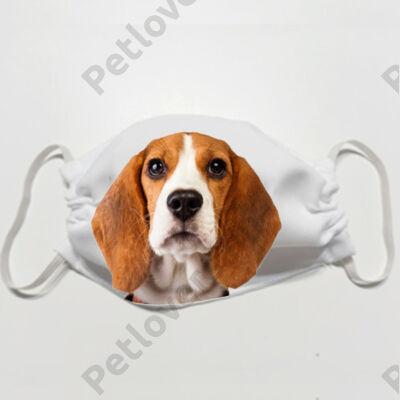 Beagle mintás szájmaszk