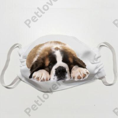 Bernáthegyi mintás szájmaszk - puppy