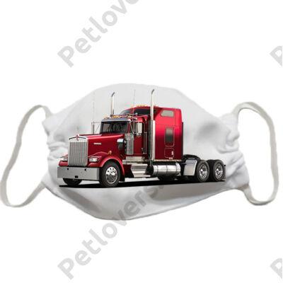 Kamion mintás szájmaszk