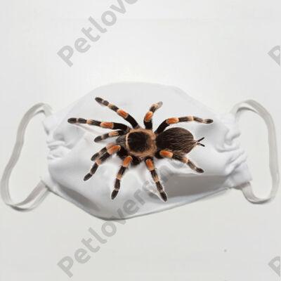 Pók mintás szájmaszk