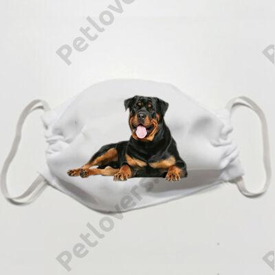 Rottweiler mintás szájmaszk 2