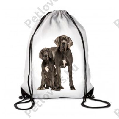 Német dog hátizsák - blue