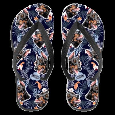 Dobermann papucs (flip flop) - hawaii