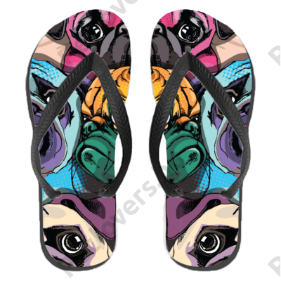 Mopszos papucs (flip flop)