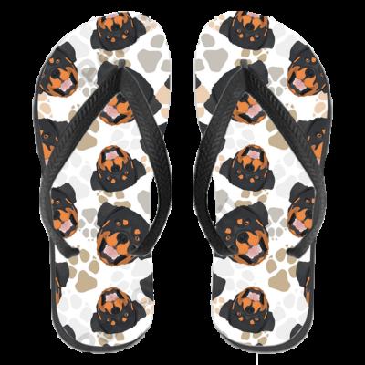 Rottweiler papucs (flip flop)