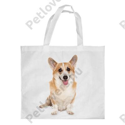 Corgi mintás bevásárló táska