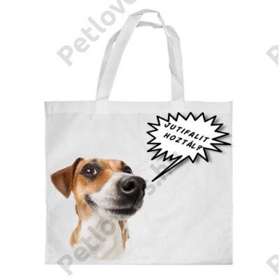 Jack Russell bevásárló táska - jutifali