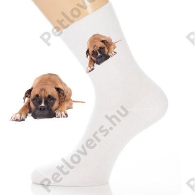 Boxer boka zokni