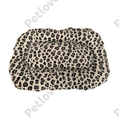 Leopárd mintás kutyafekhely 58x36x6