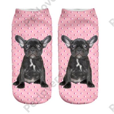 Francia Bulldogos zokni 3