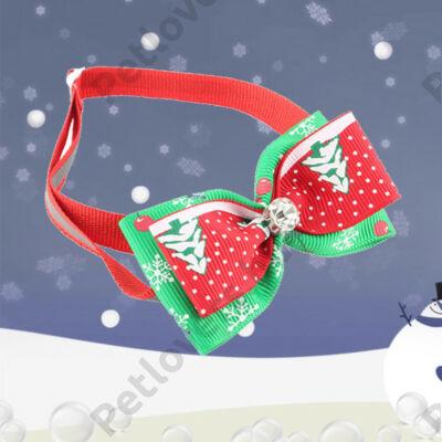 Karácsonyi nyakkendő kővel