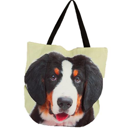 3D Berni Pásztor mintás táska - puppy