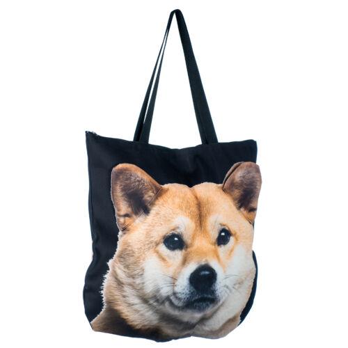 3D Shiba Inu mintás táska