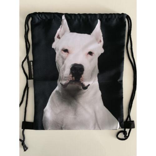 Argentin dog mintás hátizsák