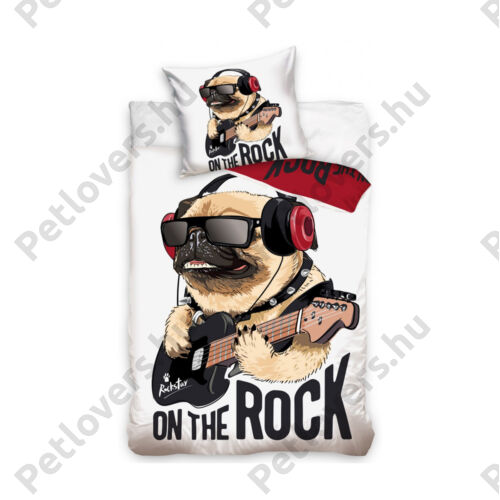 Mopszos ágynemű - rock