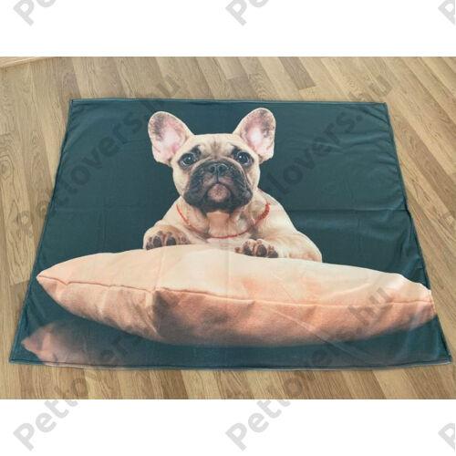 Francia Bulldog takaró - bézs