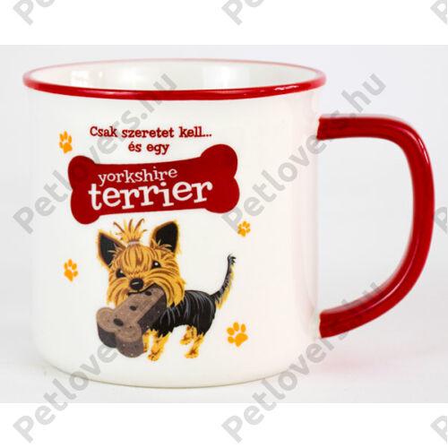 Yorkshire terrier bögre - w&w