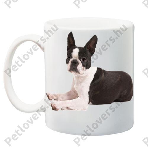 Boston Terrier bögre