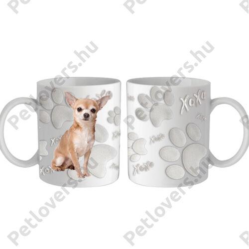 Chihuahua bögre - xoxo