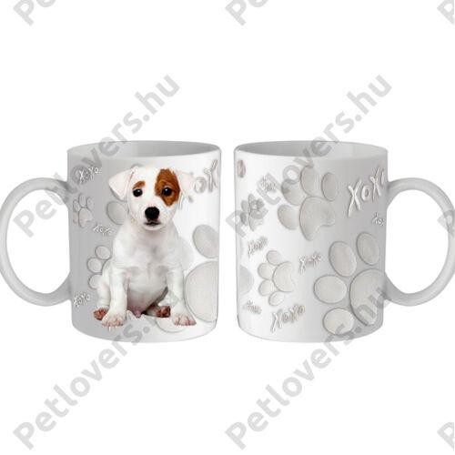 Jack Russell terrier bögre - xoxo