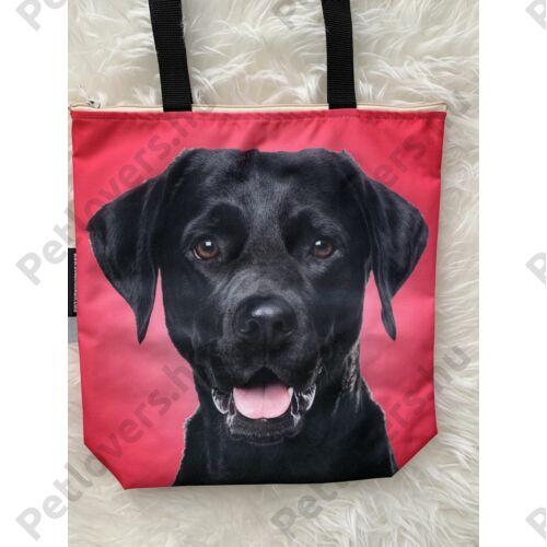 Labrador mintás táska