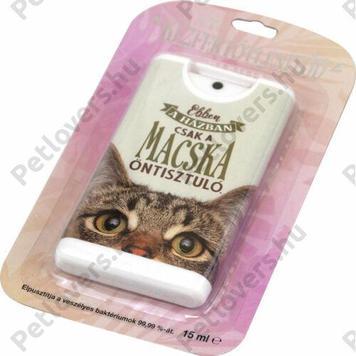 Macskás kézfertőtlenítő spray