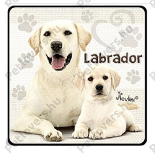 Labrador hűtőmágnes
