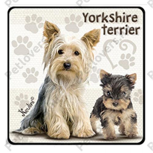 Yorkshire Terrier hűtőmágnes
