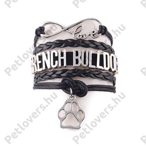 Francia Bulldog karkötő