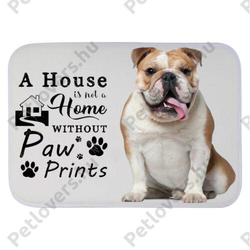 Angol Bulldogos szőnyeg - a house