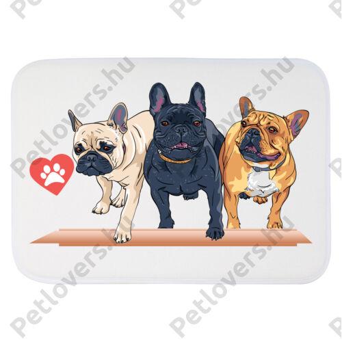 Francia Bulldogos szőnyeg - cartoon