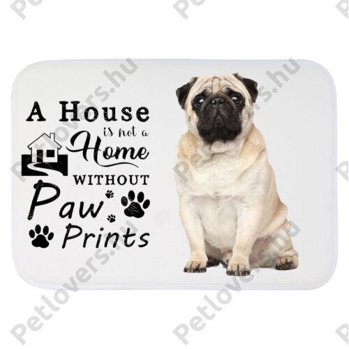 Mopsz mintás szőnyeg - a house