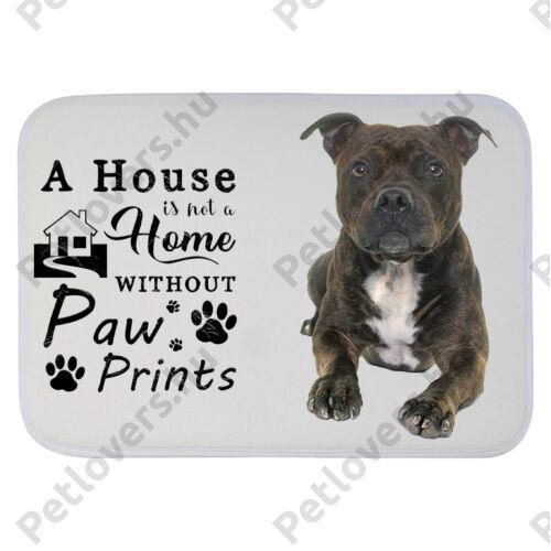 Pitbull mintás szőnyeg - a house