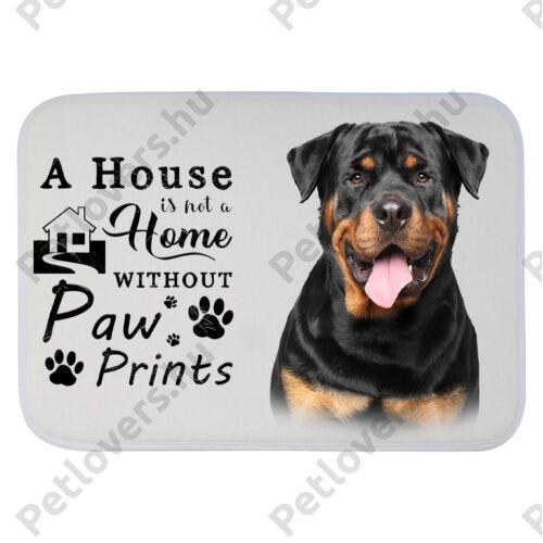 Rottweiler mintás szőnyeg - a house