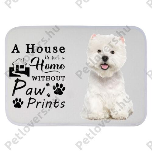 Westie mintás szőnyeg - a house