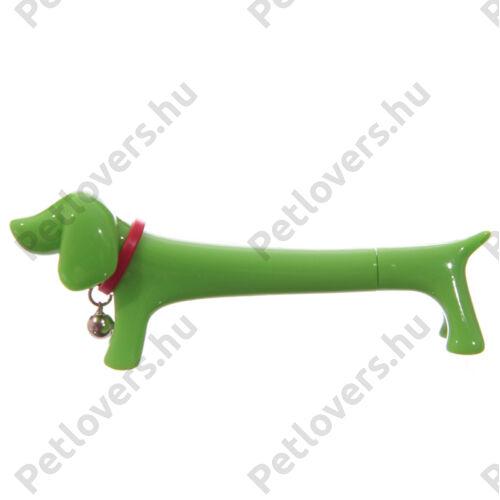 Kutyás toll - zöld