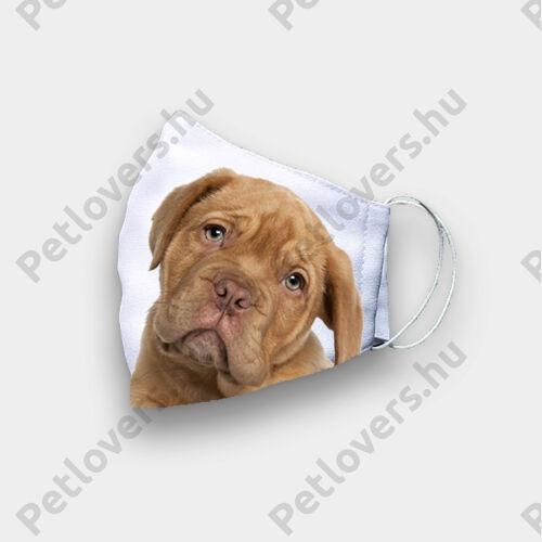 Bordeaux-i dog szájmaszk - puppy