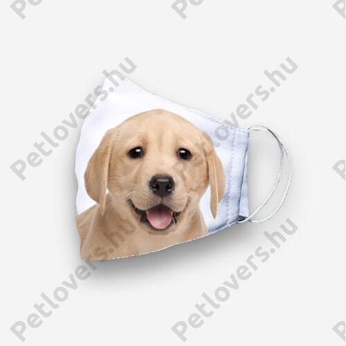 Labrador mintás szájmaszk