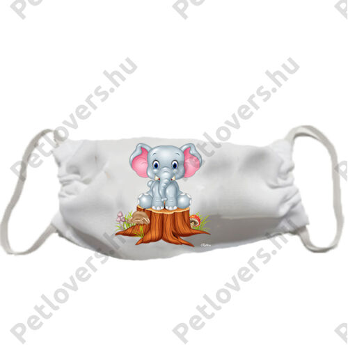 Elefánt gyerek szájmaszk