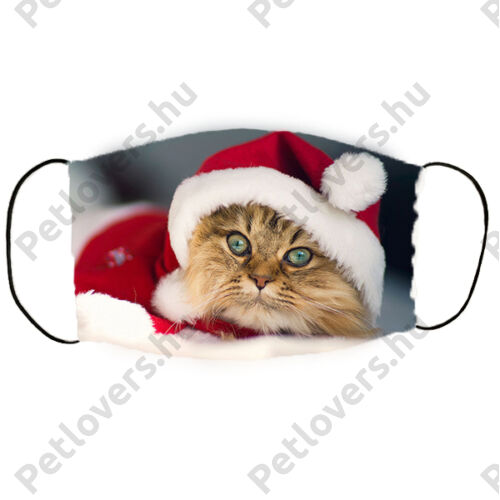 Cicás karácsonyi szájmaszk