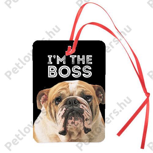 Angol Bulldog autóillatosító - boss