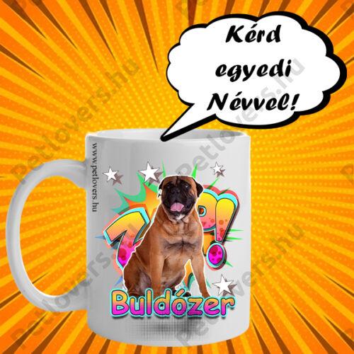 Bullmastiff bögre - comic